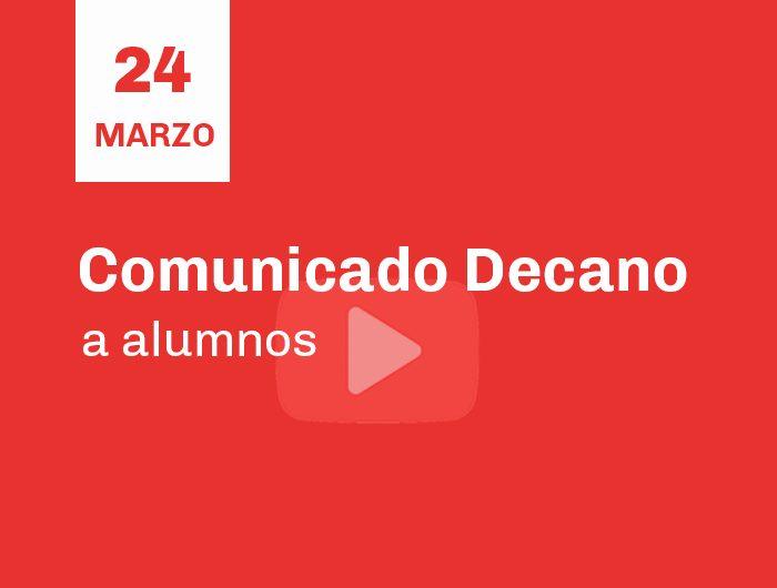 comunicado_decano24-3-